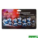 Red Machine Комплект игроков с шайбой «Юниор» (синий), интернет-магазин товаров для бильярда Play-billiard.ru