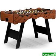 Weekend Настольный футбол (кикер) «Stuttgart» (122x61x81см, коричневый), интернет-магазин товаров для бильярда Play-billiard.ru. Фото 1
