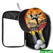 Weekend Набор для настольного тенниса «Karate», (2 ракетки, 3 мяча), для интенсивных тренировок, интернет-магазин товаров для бильярда Play-billiard.ru. Фото 2