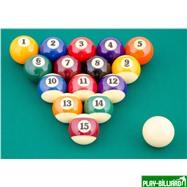 "Aramith Saluc Комплект шаров 57.2 мм ""Super Aramith Pro"", интернет-магазин товаров для бильярда Play-billiard.ru. Фото 2"