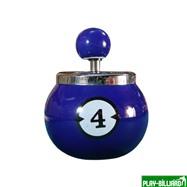 Weekend Пепельница «Четверка» (керамическая), интернет-магазин товаров для бильярда Play-billiard.ru