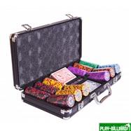 Набор для покера Tournament на 300 фишек, интернет-магазин товаров для бильярда Play-billiard.ru. Фото 3