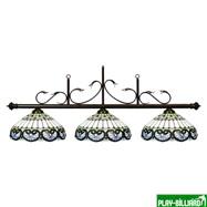 """Лампа на три плафона """"Casablanca"""", интернет-магазин товаров для бильярда Play-billiard.ru"""