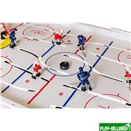 Red Machine Настольный хоккей «Форвард» (71 x 41 x 17 см, цветной), интернет-магазин товаров для бильярда Play-billiard.ru. Фото 6