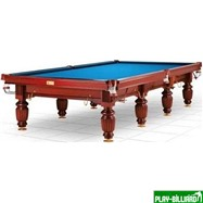 DBO Бильярдный стол для снукера «Dynamic Millenium» 12 ф (махагон), интернет-магазин товаров для бильярда Play-billiard.ru