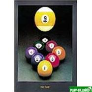 """Weekend Постер """"High Nine"""", интернет-магазин товаров для бильярда Play-billiard.ru"""