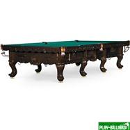 Weekend Бильярдный стол для русского бильярда «Gogard» 12 ф (черный орех), интернет-магазин товаров для бильярда Play-billiard.ru