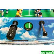 Weekend Настольный футбол (кикер) «Dybior Neapel» (120x61x81см, синий), интернет-магазин товаров для бильярда Play-billiard.ru. Фото 7