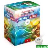 Weekend Мячи Start line Club Select 1* New (120 шт, бел.), интернет-магазин товаров для бильярда Play-billiard.ru