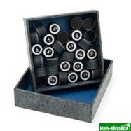 Kamui Наклейка для кия «Kamui Clear Black» (S) 13 мм, интернет-магазин товаров для бильярда Play-billiard.ru. Фото 2