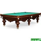 Weekend Бильярдный стол для русского бильярда «Rococo» 10 ф (орех пекан), интернет-магазин товаров для бильярда Play-billiard.ru