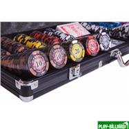 Набор для покера Frost на 500 фишек, интернет-магазин товаров для бильярда Play-billiard.ru. Фото 7