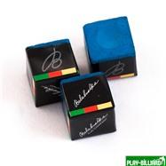 "Мел ""Balabushka"" (3 шт) синий, интернет-магазин товаров для бильярда Play-billiard.ru. Фото 1"