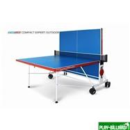 """Weekend Всепогодный складной стол для настольного тенниса """"Compact Expert Outdoor""""  (274 х 152,5 х 76 см), интернет-магазин товаров для бильярда Play-billiard.ru. Фото 3"""