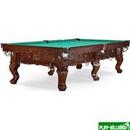 Weekend Бильярдный стол для русского бильярда «Gogard» 10 ф (черный орех), интернет-магазин товаров для бильярда Play-billiard.ru