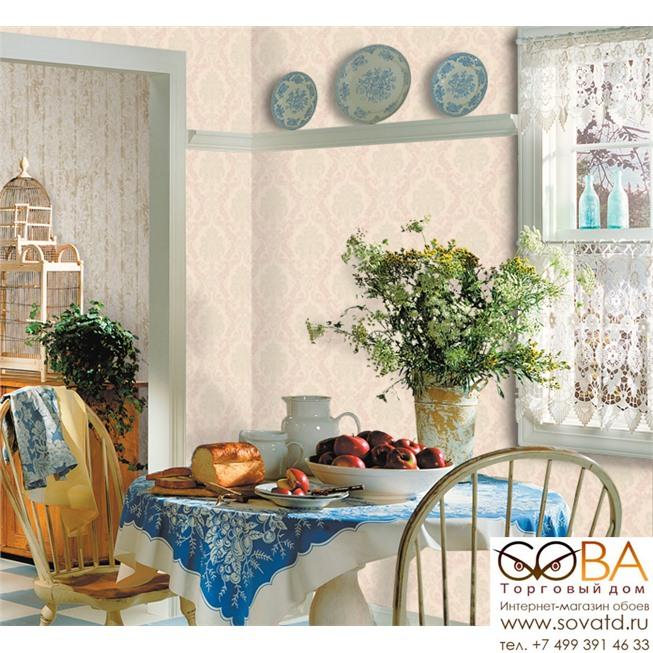 Обои Seabrook SA51409 Salina купить по лучшей цене в интернет магазине стильных обоев Сова ТД. Доставка по Москве, МО и всей России