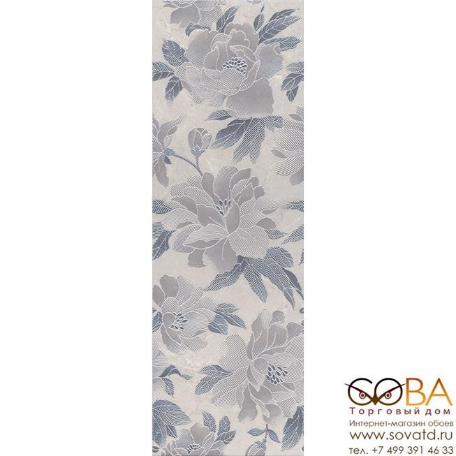 Декор Низида  серый STG\A446\12089R 25х75 купить по лучшей цене в интернет магазине стильных обоев Сова ТД. Доставка по Москве, МО и всей России