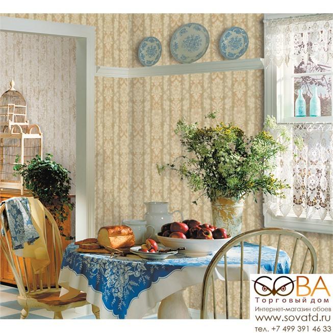 Обои Seabrook TY31503 Tapestry купить по лучшей цене в интернет магазине стильных обоев Сова ТД. Доставка по Москве, МО и всей России
