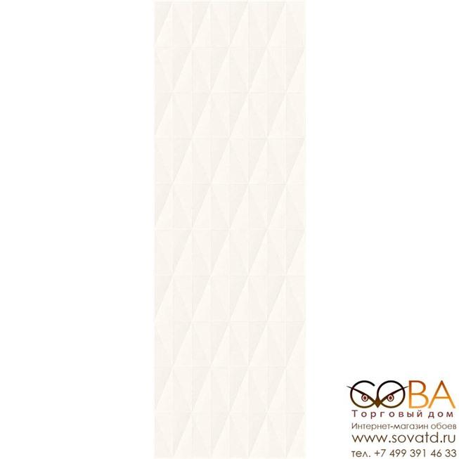 Плитка Marazzi  Eclettica White Struttura Diamond 3D 40x120 купить по лучшей цене в интернет магазине стильных обоев Сова ТД. Доставка по Москве, МО и всей России