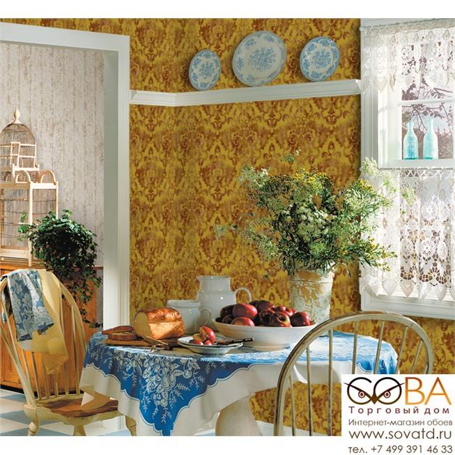 Обои Seabrook OK70801 Salerno купить по лучшей цене в интернет магазине стильных обоев Сова ТД. Доставка по Москве, МО и всей России