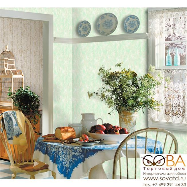 Обои Seabrook RG61004 Garden Rose купить по лучшей цене в интернет магазине стильных обоев Сова ТД. Доставка по Москве, МО и всей России