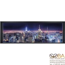 Фотообои Komar Sparkling New York артикул 4-877 размер 368 x 127 cm площадь, м2 4,6736 на бумажной основе купить по лучшей цене в интернет магазине стильных обоев Сова ТД. Доставка по Москве, МО и всей России