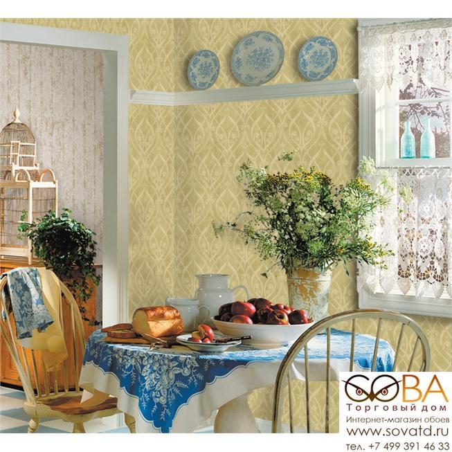 Обои Seabrook TN61007 Lucia купить по лучшей цене в интернет магазине стильных обоев Сова ТД. Доставка по Москве, МО и всей России
