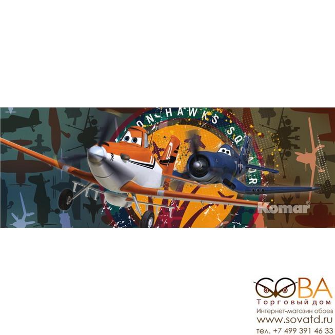 Фотообои Komar Planes Squadron артикул 1-464 размер 202 x 73 cm площадь, м2 1,4746 на бумажной основе купить по лучшей цене в интернет магазине стильных обоев Сова ТД. Доставка по Москве, МО и всей России