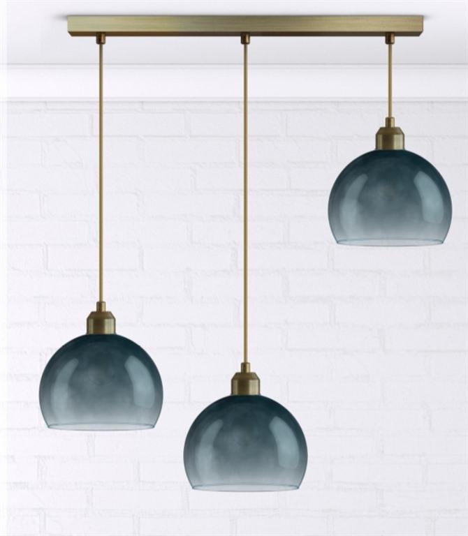 Подвесной светильник Идея Синий туман