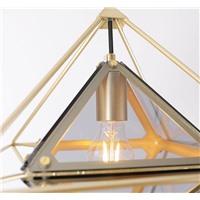 """Подвесной стеклянный светильник """"Octahedron"""""""