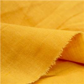 Конопляная ткань глубокого желтого цвета №41
