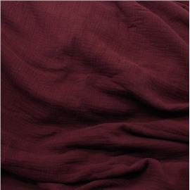 Муслин бордового цвета