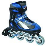 Роликовые коньки JOEREX RO0604 раздвижные (синий/черный) (р.30-33)