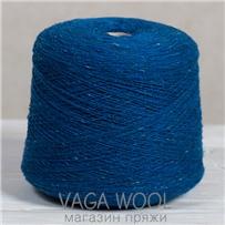 Пряжа Твид-мохер Синий принт 2728, 200м/50г Knoll Yarns, Mohair Tweed, Blue print