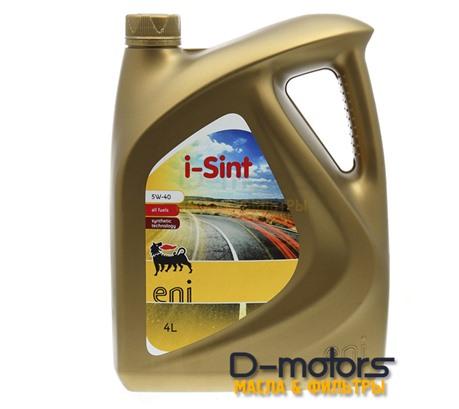 Моторное масло Eni I-Sint 5W-40 (4л.)