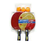 Набор для настольного тенниса Level200, 2 ракетки и 3 мяча, 61300