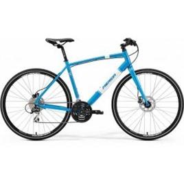 Велосипед Merida Crossway Urban 20D Fed Metallic Blue/White (2017), интернет-магазин Sportcoast.ru