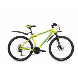 Велосипед Forward Sporting 2.0 Disc 26 (2017) Желтый, интернет-магазин Sportcoast.ru