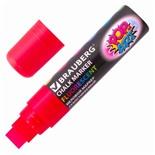 Маркер меловой Brauberg Pop-Art линия 15 мм красный 151539