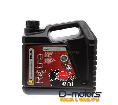 Трансмиссионное масло ENI  Rotra ATF III (4л)