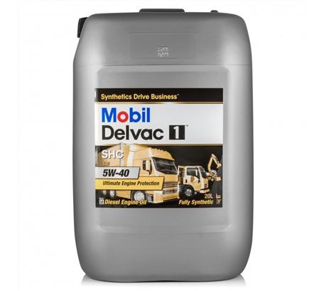 Mobil Delvac 1 SHC 5W-40, 20л