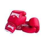 Перчатки боксерские RV-101, 12oz, к/з, красные