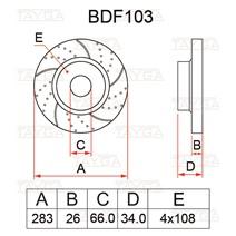 BDF103