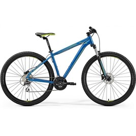Велосипед Merida Big Nine 20-D Blue (Green) 2019, интернет-магазин Sportcoast.ru