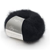 Пряжа Vogue Чёрный 099, 225м/25г, Casagrande