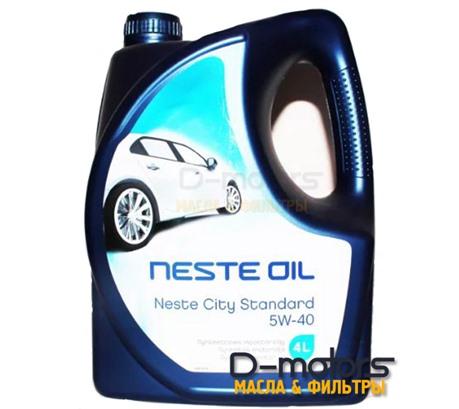 NESTE CITY STANDARD 5W-40 (4л.)