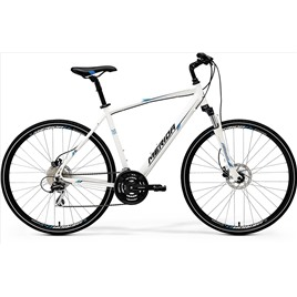 Велосипед Merida Crossway 20D White/Blue/Black (2017), интернет-магазин Sportcoast.ru