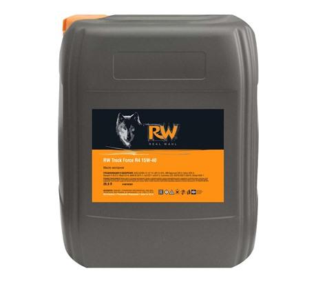 RW TRUCK FORCE R4 15W-40 (RU) (20 л.)