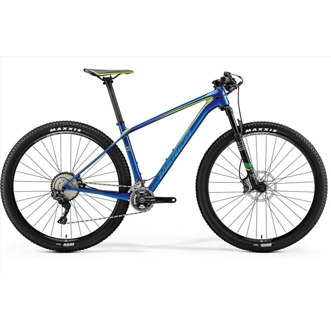Велосипед Merida Big Nine XT Blue (Green/Teal) 2018, интернет-магазин Sportcoast.ru