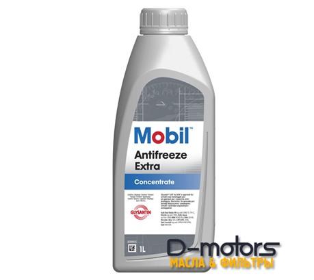 Охлаждающая жидкость Mobil Antifreeze Extra Концентрат (1л.)